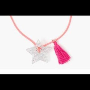 Girl's Gymboree Glitter Star Necklace - NWT